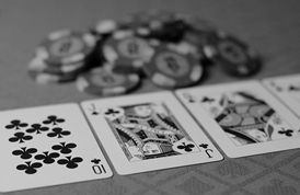 Gambling Casino B&W - Credit to https:// by ThoroughlyReviewed, on Flickr